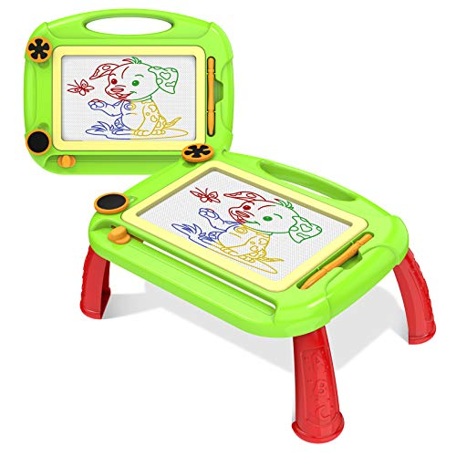 SLHFPX Creative Toys for 2-4 Year Old Boy,Magnetic Doodle Magna Drawing Doodle Board for Kids Age 2-4 Festival Gift Birthday Present for Toddlers Babies 2-4 Year Old Small Tablet for Toddler