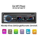 ATian Autoradio Bluetooth, Llamadas Manos Libres Radio FM Estéreo de...