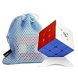 OJIN VALK 3 Cubo Magico Elite M 3x3x3 Cubo Puzzle Liscio Liscio VALK 3 Puzzle cubo EliteM con Un treppiede cubo e Una Borsa cubo (Senza Adesivo)