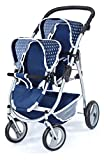 Bayer Design-26551 Cochecito de Gemelos, Buggy, Color Azul (26551AA)