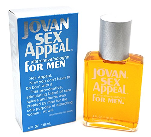 Jovan Sex Appeal After Shave Cologne-4 oz