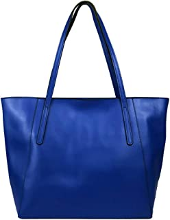 Women's Geunine Leather Tote Bag Large Purse Hot Gift