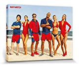 1art1 Baywatch - Beach Poses Bilder Leinwand-Bild Auf