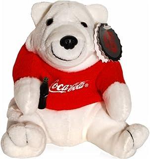 Coke Polar Bear in Red T-Shirt Bean Bag Plush #0112