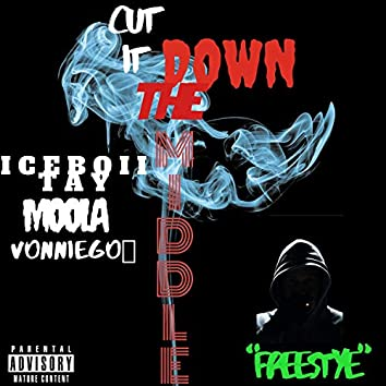Cut It Down the Middle Freestyle (feat. Moola & VonnieGo)