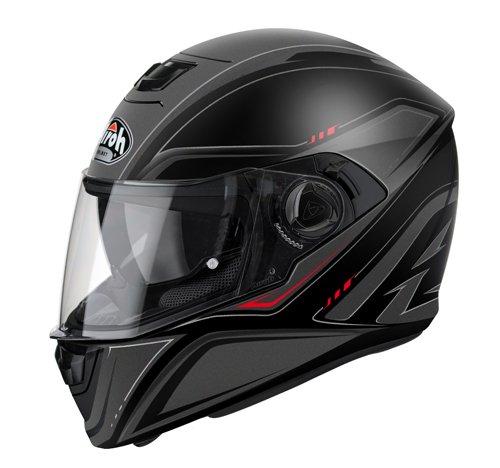 Integral Motorcycle Helmet Airoh Movement S Cut Matt White