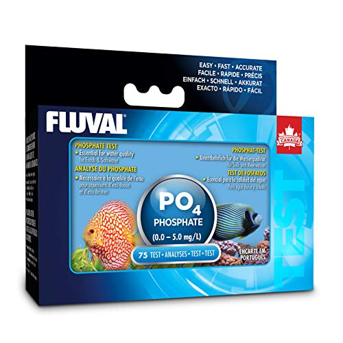 Fluval Phosphate Test Kit for Aquarium Water, Freshwater & Saltwater Fish Tank Test