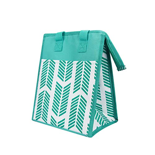 Reusable Insulated Lunch Bags for Women Large Cooler Tote Bag Durable Leakproof Picnic Box(Green...