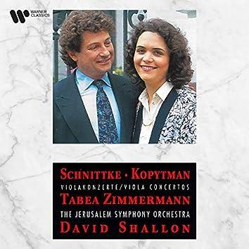 Schnittke & Kopytman: Viola Concertos