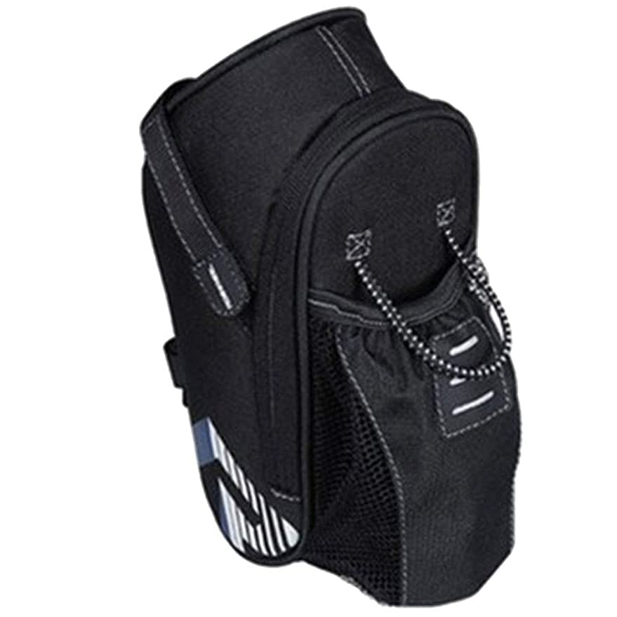 ぜいたく寛大なツーリストサイクリング収納バッグ実用自転車テールバッグ付きブラック131396テールポーチ自転車アクセサリー