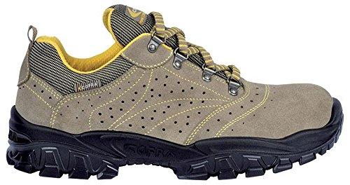 COFRA Sicherheits-Halbschuh Sicherheits-Schuh Arbeitsschuh NEW NILO - S1 SRC - Größe: 44