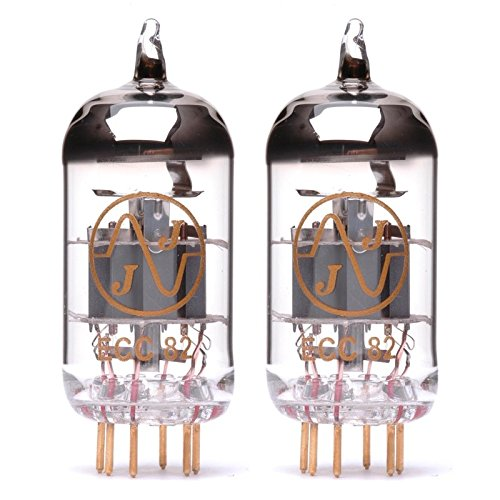 Pair of JJ ECC82/12AU7 Gold Pin Preamp Vacuum Tube