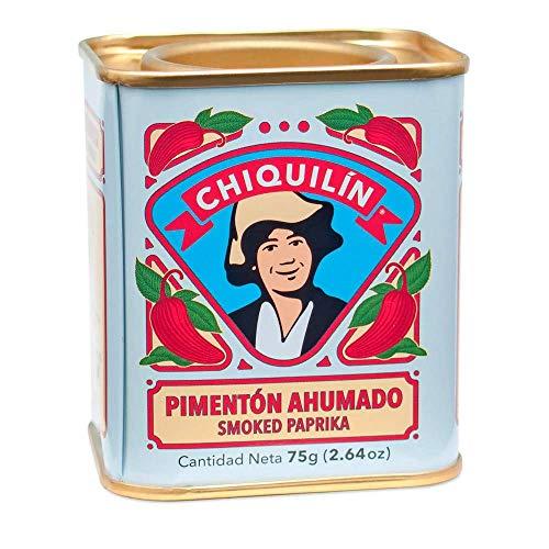 CHIQUILÍN - Lata de pimentón ahumado de 75 gramos - Productos Gourmet desde 1909