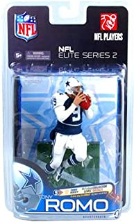 McFarlane Toys Action Figure - NFL Elite Series 2 - TONY ROMO (Collector Level Bronze - Variant Third Jersey) #'ed out of 3000