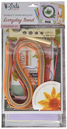 PULSAR ECO PRODUCTS QT33014 Quilling Starter Kit All Occation