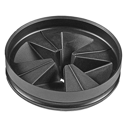 InSinkErator QCBAM AntiMicrobial Quite Collar Sink Baffle for Evolution Series Black