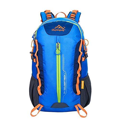 36-55L Professional Alpinisme Sac à dos Outdoor Mouvement Riding Bag , blue