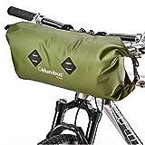 COLUMBUS- Handlebar Bag Green Bolsa de Manillar de 9L