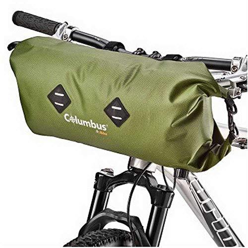 COLUMBUS- Handlebar Bag Green Borsa per Manubrio da 9L