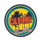 California Beach Bar Route 66 Sticker Vintage Decal JDM 1980 1970 Retro