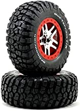 Traxxas 5877R Tire and Wheel Model Car Parts, Red
