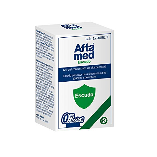 Kern Pharma Aftamed Escudo Gel Alta Densidad 10Ml 4 Unidad 500 g