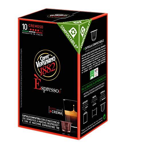 CAFE VERGNANO: Espresso Cremoso Capsule, 4.94 oz