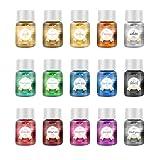 YZNlife Epoxidharz Farbe 15 * 10g Farbe Powder, Metallic Pigmente Glitzer Seifenfarbe Mica Pulve,...