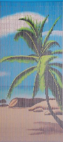 Unbekannt Bambustürvorhang Bambusvorhang Türvorhang Paradise ca. 90x200cm
