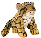 Wild Republic Clouded Leopard Plush, Stuffed Animal, Plush Toy, Gifts for Kids, Cuddlekins 12 Inches