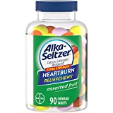 Alka-Seltzer Extra Strength Heartburn ReliefChews - Relief of Heartburn, Acid Indigestion and Sour Stomach - Assorted...