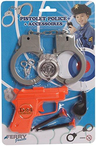 sans marque Pistolet De Police + Accessoires