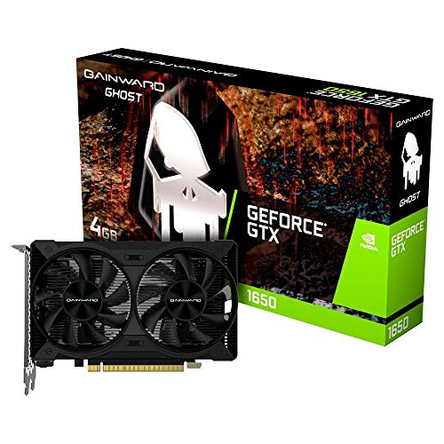 Placa de Vídeo NVIDIA GeForce GTX 1650 D6 Ghost 4GB GDDR6 PCI-E 3.0 NE6165001BG1-1175D Gainward