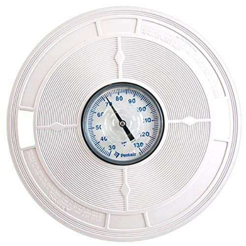 Pentair L1 White 9-7/8-Inch LID with Thermometers Replacement Pool and Spa Skimmer