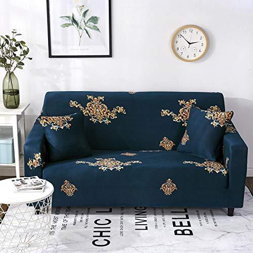 Funda Sofa Ajustables 2 plazas, Fundas de sofá para Sala de Estar Fundas elásticas, Funda de sofá Toalla de sofá elástica en Forma de L Chaise Longue Z 145-185cm
