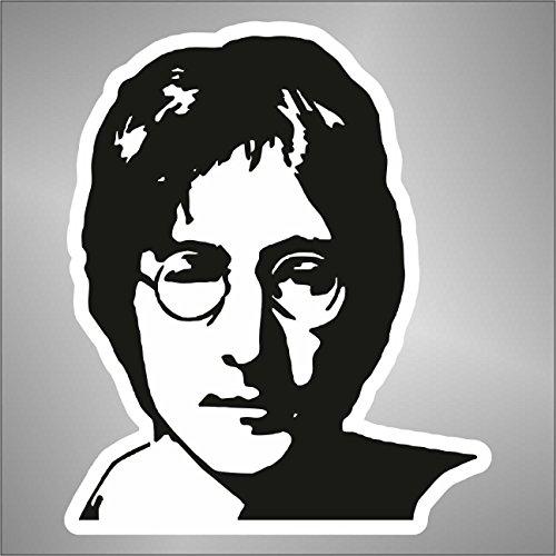 Graphic-lab Aufkleber - Sticker The Beatles John Lennon hip hop Rap Jazz Hard Rock pop Funk Sticker