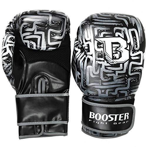 Booster Boxhandschuhe, Labyrint, schwarz Größe 10 Oz