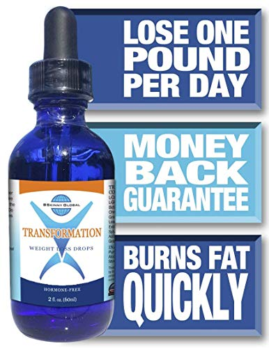 BSkinny Global Transformation Weight Loss Drops - Diet's Protocol Brochure - 2 ounces