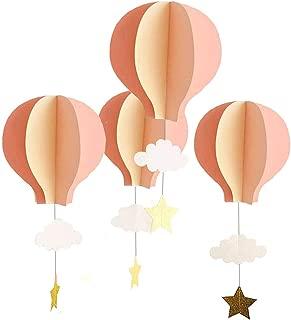 3d paper hot air balloon