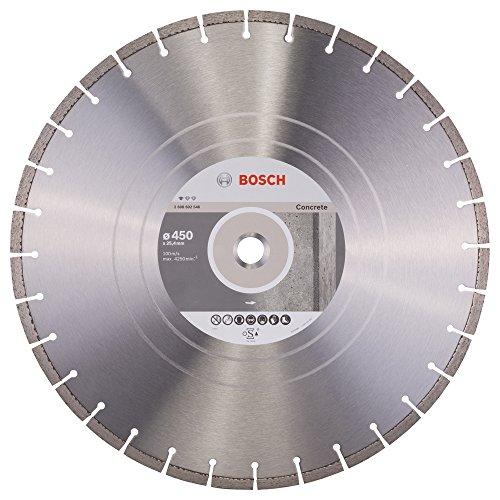 Bosch Professional Diamanttrennscheibe (für Beton, Ø: 450 mm, BohrungØ: 20 mm, Zubehör für Benzinsägen und Tischsägen)