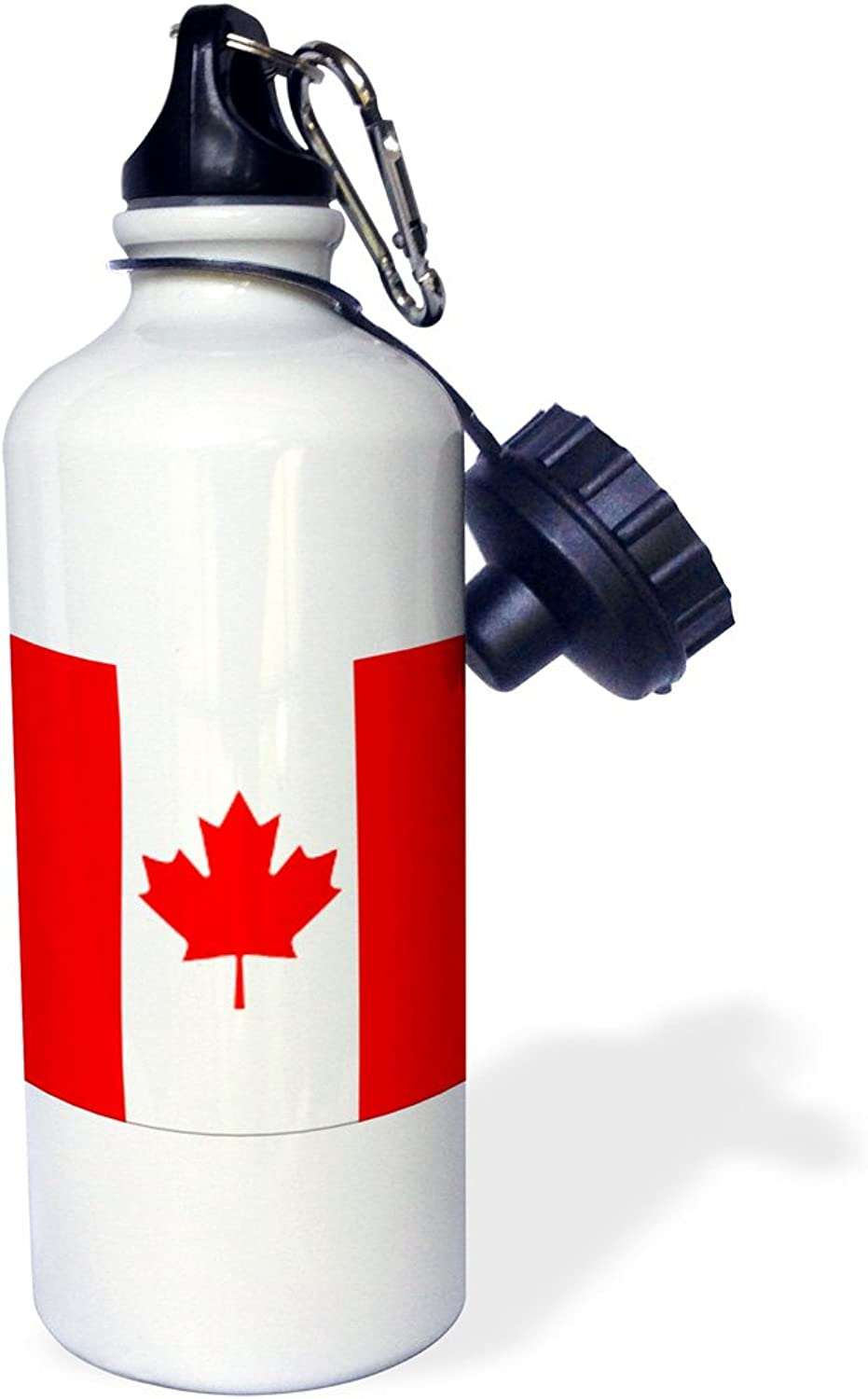 3dpink wb_4561_1 Italian Flag Sports Water Bottle, 21 oz, White