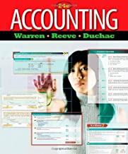 By Carl S. Warren - Accounting (24th Edition) (12.2.2010)