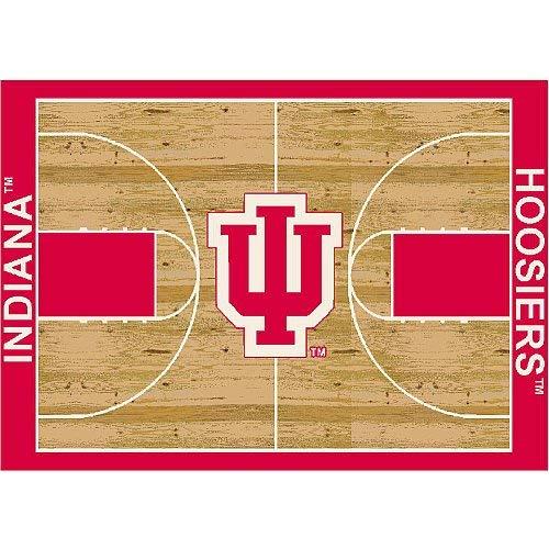 Milliken Indiana College Home Court Area Rug, 3'10