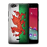 Stuff4 Phone Case for Wiko Pulp 4G Nation National Flags