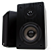 Micca MB42 Bookshelf Speakers, Passive, Needs Amplifier or Receiver, Not for Use Directly with Turntable, 4-Inch Carbon Fiber Woofer and Silk Dome Tweeter (Black, Pair) (Renewed)
