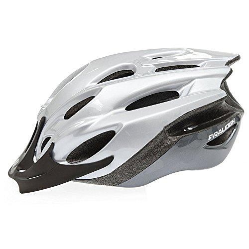 Raleigh Mission Evo Bike Helmet (Silver, Large (58-62cm))