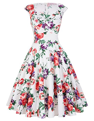 Sleeveless Vintage Wiggle Dresses Ruched Bodice Size XL BP105-8