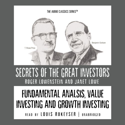 Fundamental Analysis, Value Investing, and Growth Investing audiobook cover art