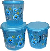 Joyo Storewell Plastic Containers, 10kg 7.5kg 5kg, Blue