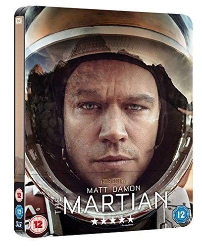 Der Marsianer Steelbook Blu-ray + 3D Blu-ray 2D [2Blu-Ray] [Region Free] (Deutsche Sprache. Deutsche Untertitel)